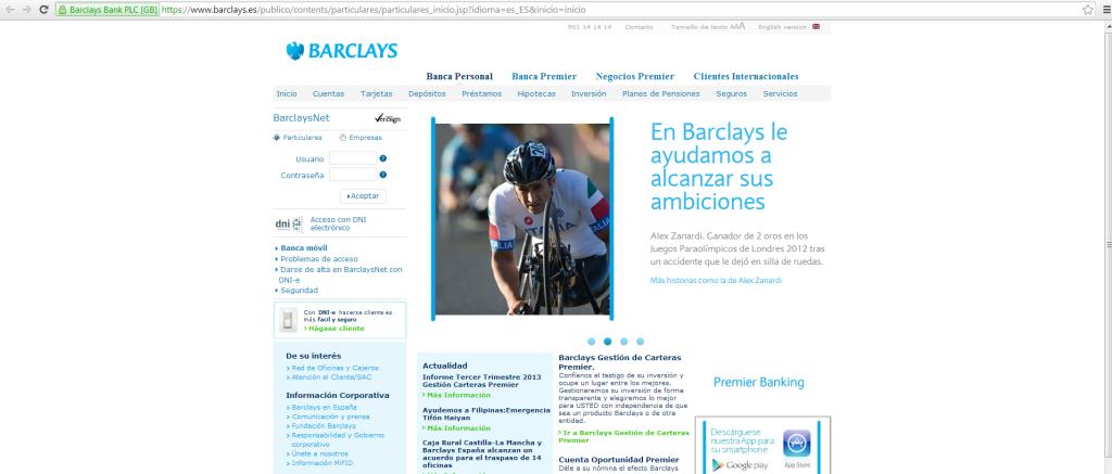 Campagna Pubblicitaria Banca Barclays