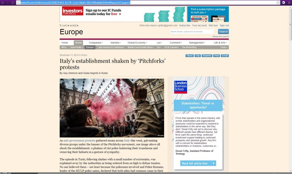 Financial Times - online edition