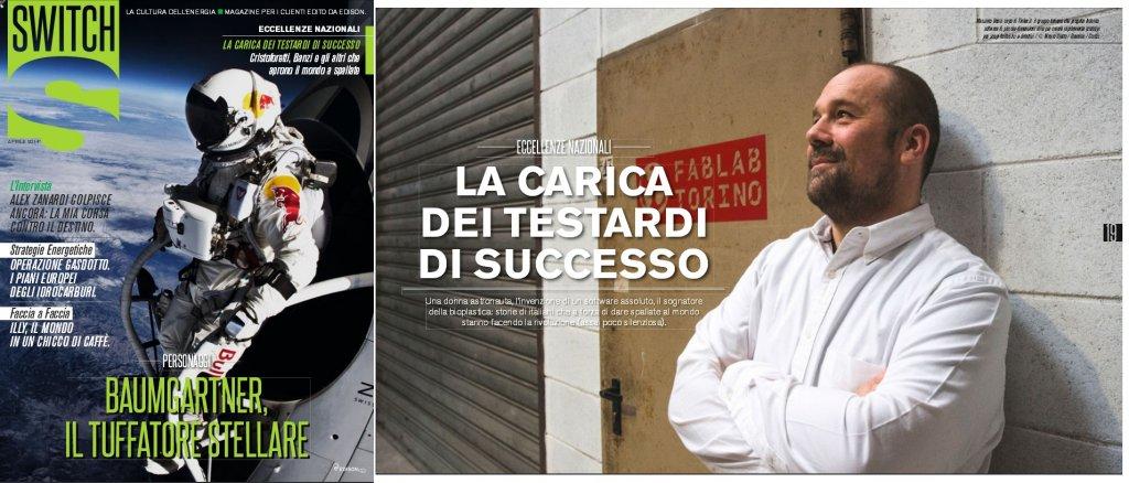 Massimo Banzi on Switch Magazine