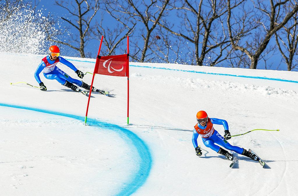 Giochi Paralimpici, Gara di Super combinata