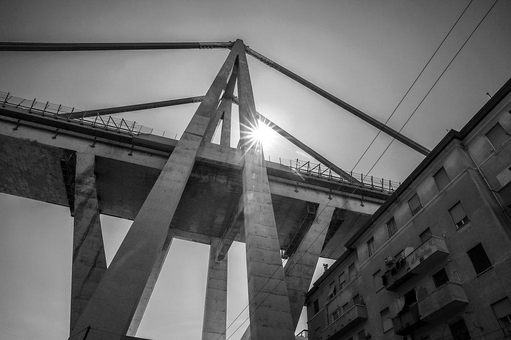 Sfollati crollo ponte Morandi