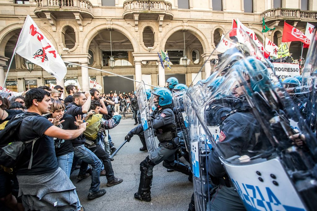 May Day  (International Workers' Day ) in Turin